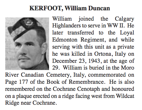 Photo of WILLIAM DUNCAN KERFOOT