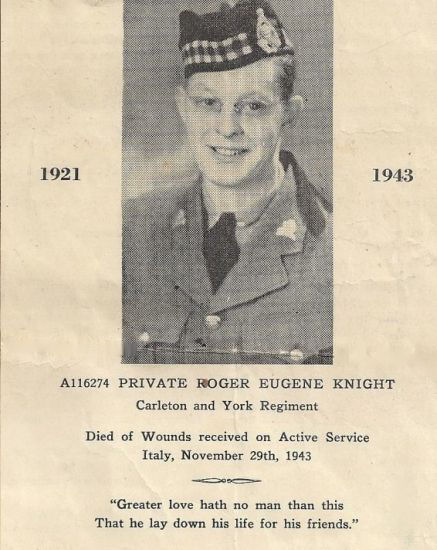 Photo of Roger Eugene Knight