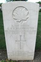 Grave marker– Moro River Canadian War Cemetery - May 2013