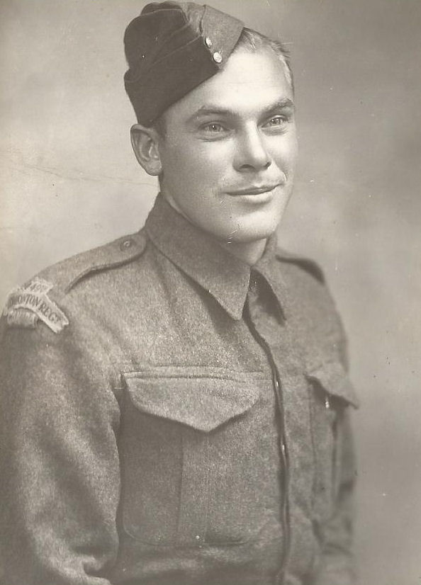 Photo of Samuel MacAhonic– Son of Steve and Lena MacAhonic of Ryley, Alberta.  Samuel is my father's brother.