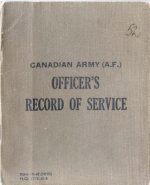 Service Book– The Service Book was carried by all Canadian Soldiers. This book belonged to Major MacDougall and was repatriated to Canada in December 2000.