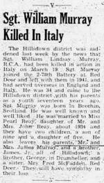 Coupure de presse – Red Deer Advocate 29 Mar 1944