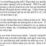 Transcription of Last letter