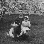 Photo 2 of Charles Otis Parker– Charles Otis Parker Age 21 Years with daughter, Etta.