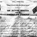 Letter (August 22, 1943)