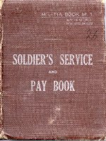 Service Book– The Service Book was carried by all Canadian Soldiers. This book belonged to Private Risebrough and was repatriated to Canada in December 2000.
