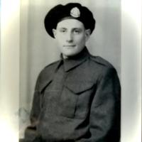 Photo of DAVID ROBERTSON– Photo of my Uncle David who I never got to meet as he died from wounds received in action, in Italy, on 10/12/43.