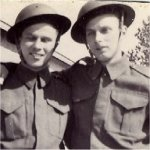 Brothers– Doug and Jack Teer in Uniform.