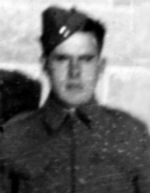 Photo of Frank Henry Airriess– In memory of those who served in Hong Kong during World War 11 and did not come home. Submitted with permission on behalf of the Hong Kong Veterans Commemorative Association by Operation: Picture Me.