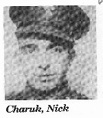 Photo of Nicholas Charuk– From: The Hands of Time: Community history book in Buchanan, Saskatchewan