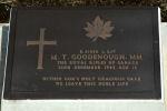 Grave Marker– Headstone of Murray Goodenough, Yokohama War Cemetery, Japan