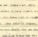 Letter– Stan's last letter to his father.  Received posthumously.