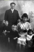 Photo of Stanley Hamilton Hunter– Hamilton, Gert, Queenie Stan, and Art.  Submitted for the project, Operation Picture Me