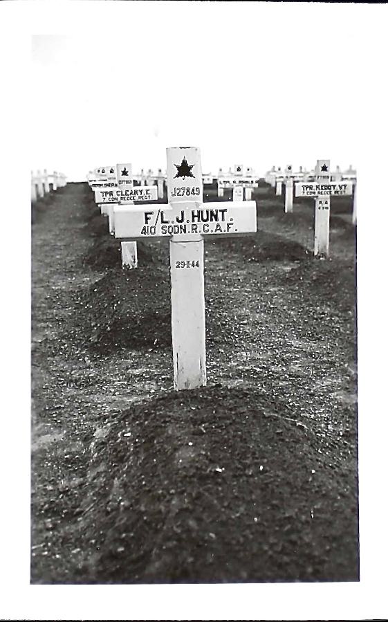 Grave marker– Eldric's marker is 2nd row left.  Submitted for the project, Operation Picture Me