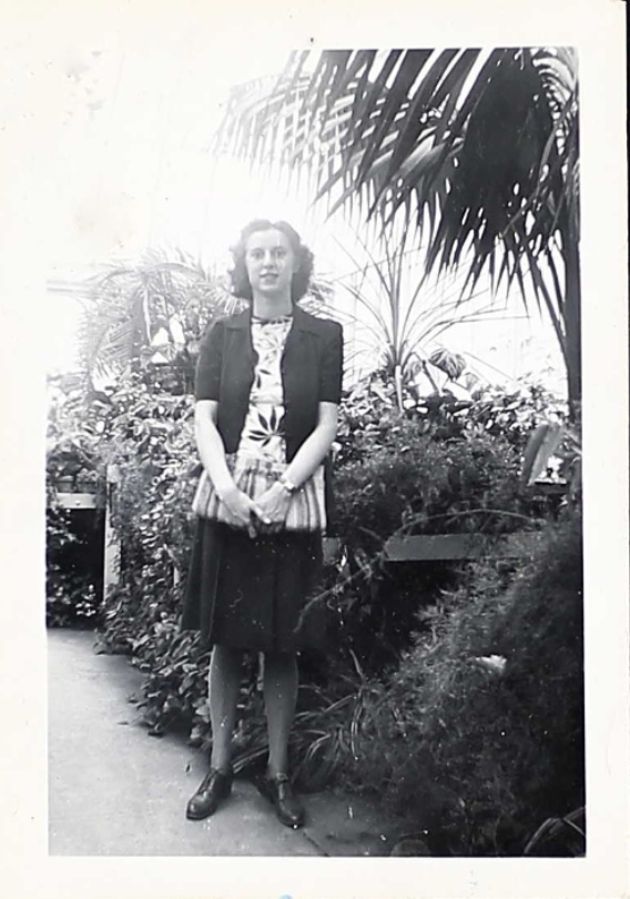Photo– It is unknown who this person is. The photo was found in Zeigfried's miitary service file. Submitted for the project, Operation Picture Me