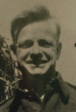 Photo of Donald Lacby– In memory of the students from Western Technical School, Toronto who served during World War II and did not return. Submitted for the project, Operation: Picture Me.