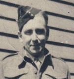 Photo of Stanley Patton– Stanley Patton. Image provided by Padre Phil Miller, RCL, Branch 25, Sault Ste. Marie. We Will Remember Them.