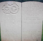 Grave Marker with crew