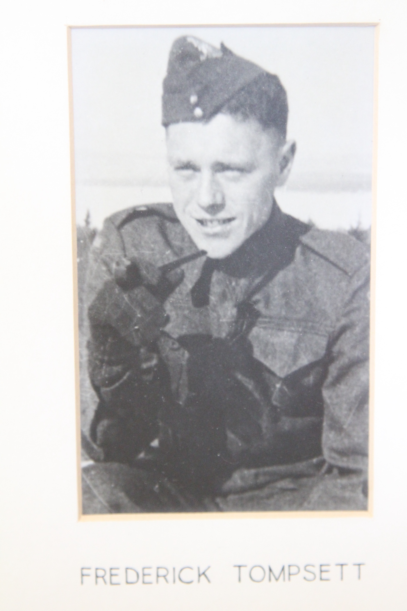 Photo of FREDERICK TOMPSETT– In memory of the students from the Vaughan Road Collegiate Institute  (Toronto) who went away to war and did not come home. Submitted for the project, Operation Picture Me