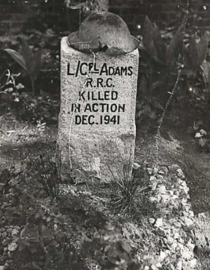 Gave Marker– Temporary roadside grave. Submitted for the project, Operation Picture Me