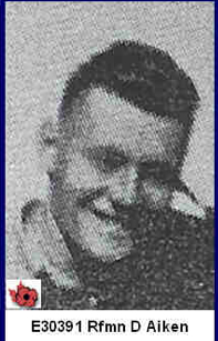 Photo of Deighton Aitken– In memory of those who served in Hong Kong during World War 11 and did not come home. Submitted with permission on behalf of the Hong Kong Veterans Commemorative Association by Operation: Picture Me.
