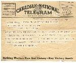 Telegram– Telegram Received by my Grandfather of his son (Glennies )Capture.