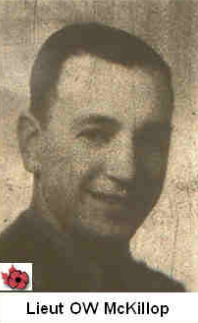 Photo of Orville Watson McKillop– In memory of those who served in Hong Kong during World War II and did not come home. Submitted with permission on behalf of the Hong Kong Veterans Commemorative Association by Operation: Picture Me.