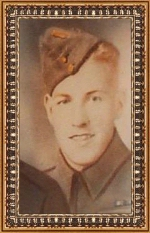 Photo of Clifford Howard Kimmel– Corporal Clifford Howard Kimmel.  Enlisted with Hastings and Prince Edward Regiment, R.C.I.C on July 4, 1940.