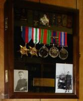 Military medals and photos– Submitted for the project, Operation Picture Me