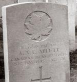 Grave Marker– Holten Cemetery