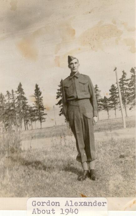 Photo of Albert Gordon Alexander