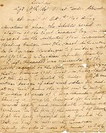 Letter– Citation for A. G. Alexander for bravery in WWII.