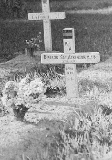 Temporary grave