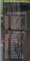 Memorial– Private John James Batyski is also commemorated on the Lake Superior Regiment (Motor) Memorial located in Hillcrest Park, Thunder Bay, ON … May 2018 ... photo courtesy of Marg Liessens