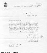 Letter of Congratulations
