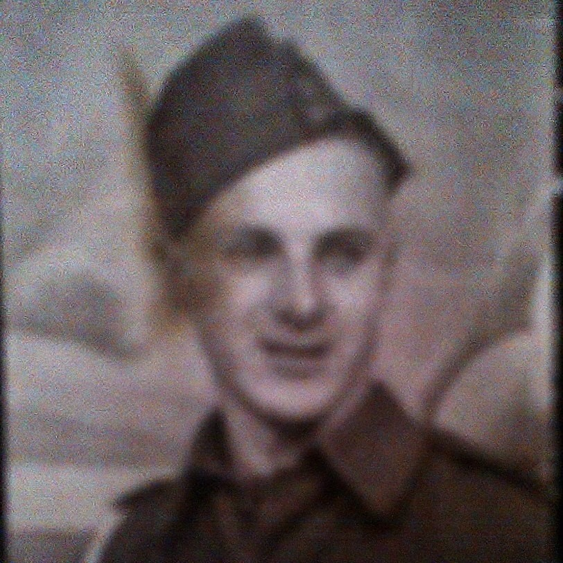 Photo of ERNEST WILSON COOMBER– My Uncle Ernie in service 1939-1945
