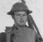 Photo of Lyle Lewis Craig– Lyle L. Craig with combat gear.