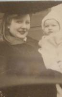 Photo of STANLEY ROSS DOBSON– Stanley's wife and daughter. Submitted for the project, Operation Picture Me