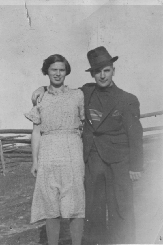 Photo of Arthur Peter Donald– Olga and Arthur. Submitted for the project, Operation Picture Me