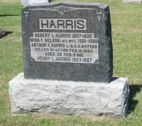 Family gravemarker– The Carrying Place Cemetery, Prince Edward County, Ontario, Canada.