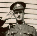 Photo of Frank Harris– In memory of the members of the 48th Highlanders of Canada who went to war and did not come home. 