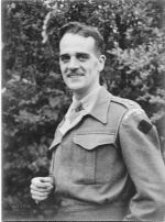 """Photo of Frederick Kay– Lt Frederick Gordon Kay. Known to family as """"Uncle Fred"""". Died while being transported on a POW train."""