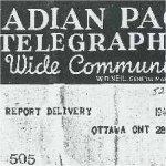 Telegraph dated 1945 APR 28