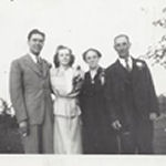 Group Photo– Brother-in-law Frank McDowell, sister Anne, mother Lyda, father Samuel