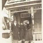 Family photo– Brother Cecil, sister-in-law Lillian, sister Anne