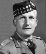 Photo of Harold McCutcheon– In memory of the members of the 48th Highlanders of Canada who went to war and did not come home. 