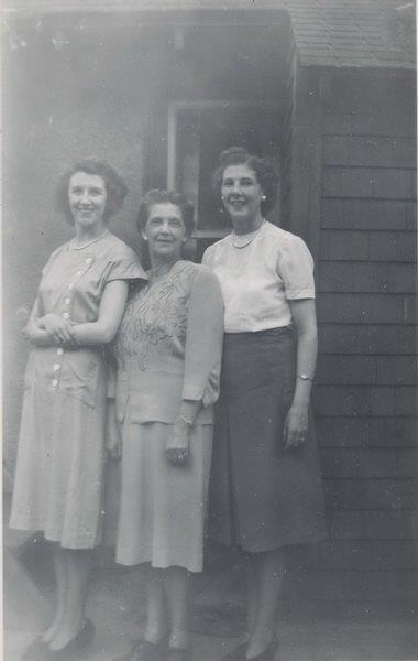 L-R Sister Joan,Mother Florence,Sister Margaret
