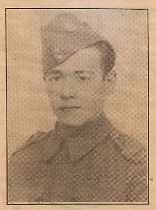 Photo of HENRY ALBERT MARCHAND– Submitted for the project, Operation Picture Me