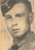 Press Clipping– This image of Rfn Parson was obtained from a 1945 Toronto newspaper.