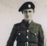 Photo of Allan Rathwell– Image of Allan Rathwell. Provided by Padre Phil Miller, Br #25, RCL, Sault Ste. Marie, ON. We Will Remember Them.
